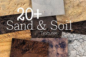 20 Sand & Soil Textures Pack