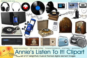 Annie's Listen To It! Clipart