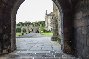 Stone Arched Entrance