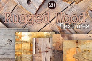20 Rugged Wood Textures Pack