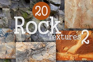 20 Rocks Textures Pack 2