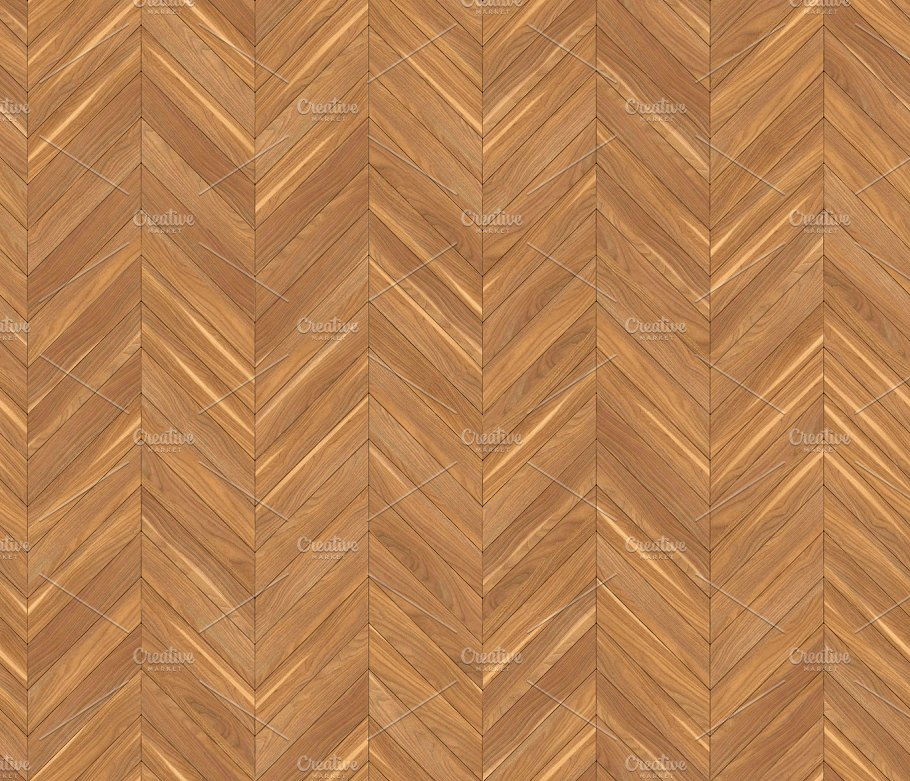 Chevron Natural Parquet Seamless Floor Texture Abstract Photos Creative Market