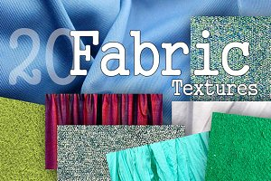 20 Fabric Texture Backgrounds