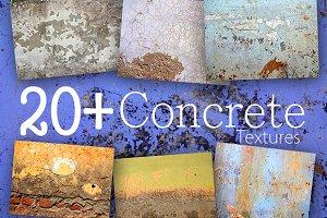 20 Concrete Textures Pack 1