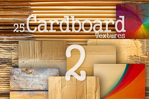 20 Card Board Textures Pack 2