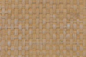 handcraft bamboo weave texture