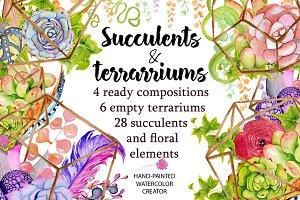 Succulents terrarium creator Vol.1