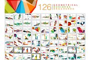 Mega collection of business brochure templates, annual report cover print templates