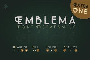 Emblema Headline 1EXTRA