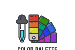 Color picker and palette