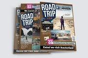 Road Trip Magazine Template