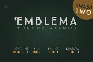 Emblema Headline 2SWASH