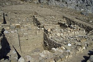 Archaeological excavations in Crimea