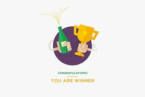 Congratulations you are winner