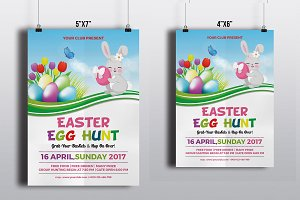 Easter Egg Hunt Flyer-V516