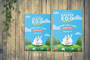 Easter Flyer Template -V517