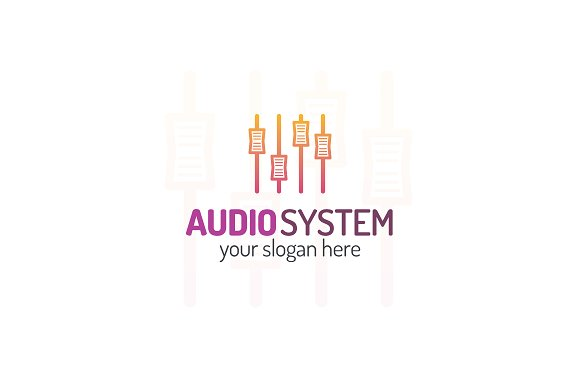 Audio system logo