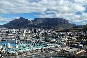 Cape Town and Table Mountain