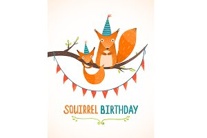 Little Squirrels Birthday