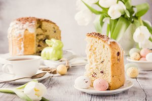Easter orthodox sweet bread