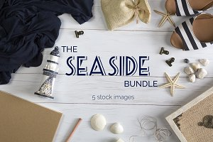 The Seaside Mockup Bundle