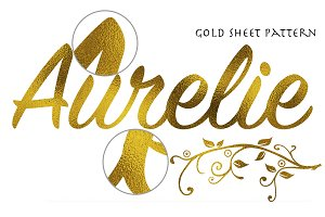 Aurelie-Gold Sheet Texture Effect V1