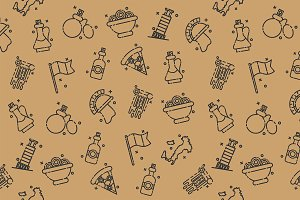 Italy Icons Design Pattern