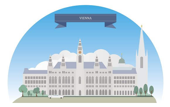 Cities of Austria - Objects