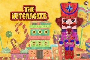 Digital Clipart Nutcracker (Tex)
