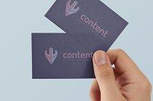 """W"" Writing Content Marketing Logo"