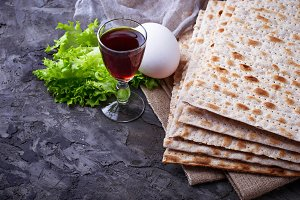 Jewish celebration Passover seder