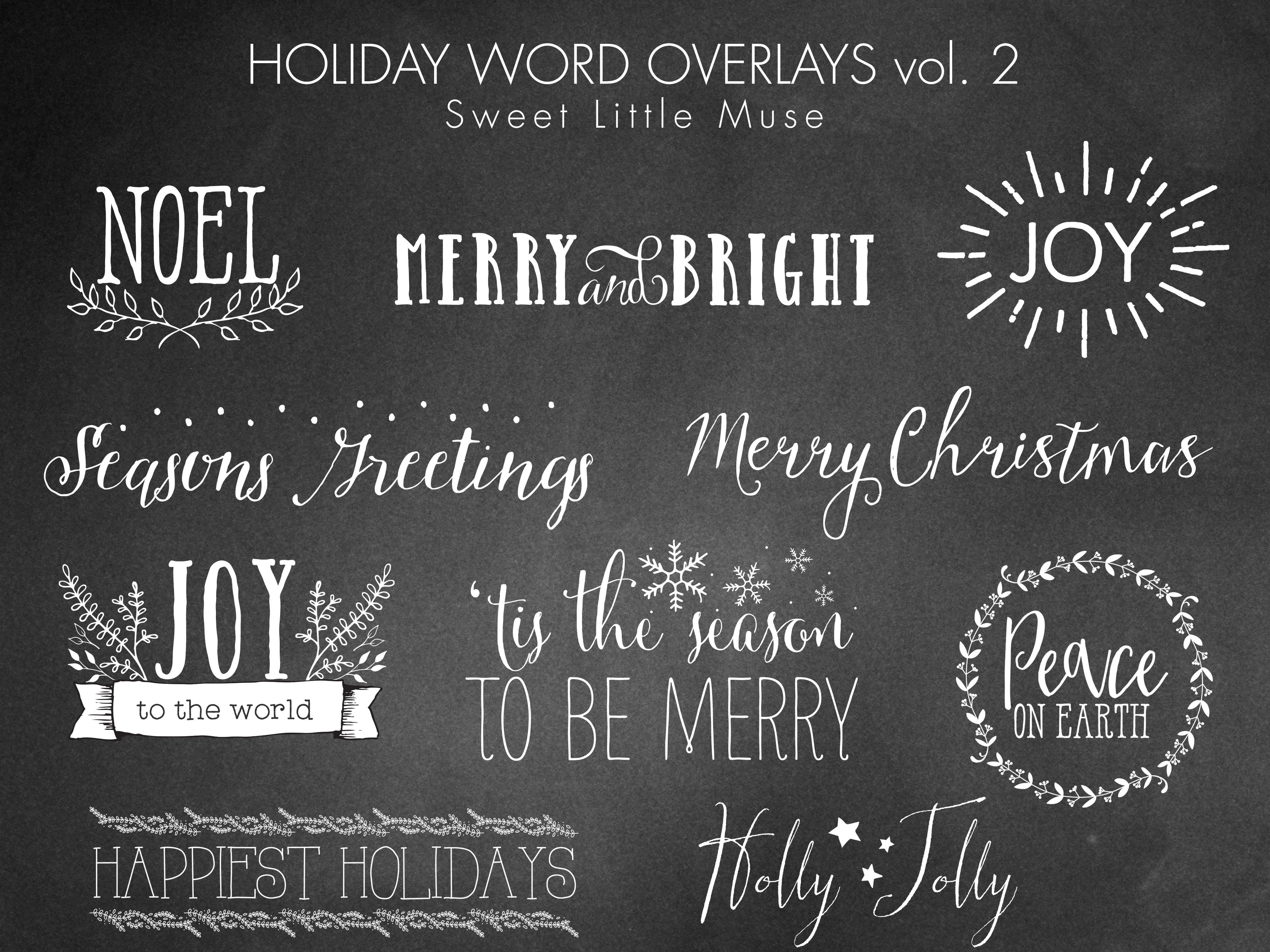 holiday word overlays photos graphics fonts themes templates christmas word overlays digital