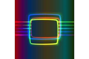 Neon screen