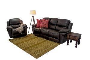 Leather Sofa Set png