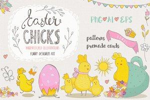 Easter chiks fun kit