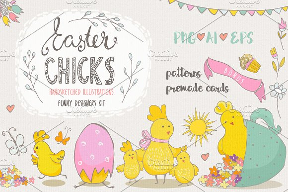 Easter Chiks Fun Kit