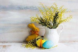 Festive Easter concept