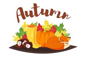 Hello Autumn + icons