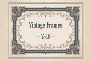 24 Vintage Frames. Vol.8