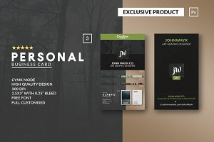 Personal Creativemarket BusinessCARD
