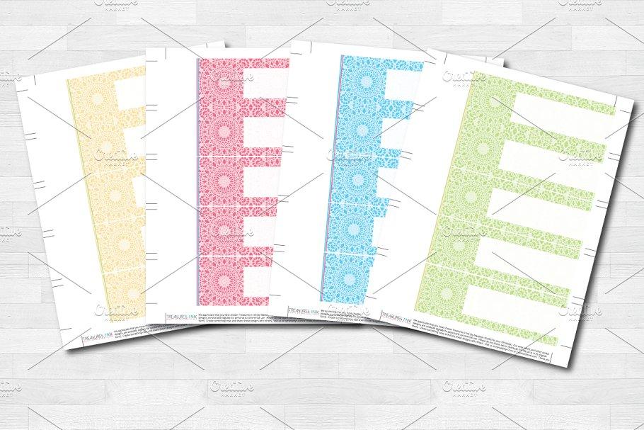 Wedding Lace Wrap Labels