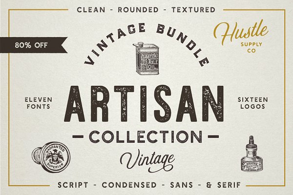The Artisan Collection (Font Bundle…