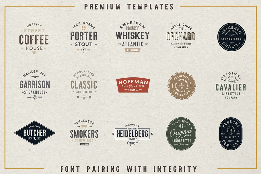 The Artisan Collection (Font Bundle) in Display Fonts - product preview 1