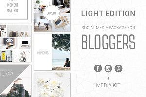 Social Media Package - Light