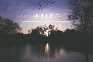 Purple Haze Sunset for LR