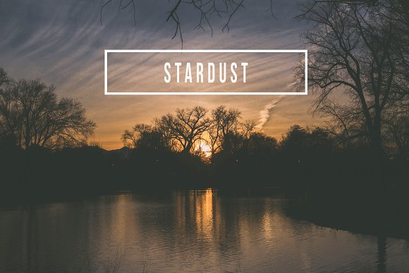 LR Preset- Stardust Sunset