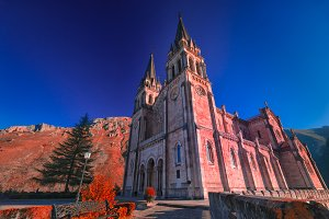 Sanctuary of Covadonga.Asturias