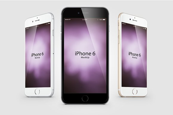 Free Mockup Composition Iphone 6