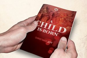 A Child is Born Church Bulletin