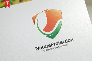 Nature Protection - Logo Template